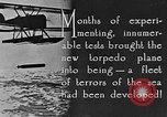 Image of torpedo plane United States USA, 1925, second 5 stock footage video 65675041841