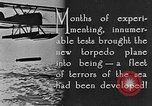 Image of torpedo plane United States USA, 1925, second 6 stock footage video 65675041841