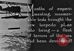 Image of torpedo plane United States USA, 1925, second 8 stock footage video 65675041841