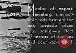 Image of torpedo plane United States USA, 1925, second 9 stock footage video 65675041841