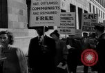 Image of Trial of 12 Communists under  Smith Act New York City USA, 1949, second 7 stock footage video 65675041853