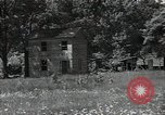 Image of wooden houses North Carolina United States USA, 1934, second 22 stock footage video 65675041859