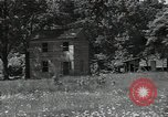 Image of wooden houses North Carolina United States USA, 1934, second 25 stock footage video 65675041859
