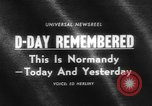 Image of Allied Forces Normandy France, 1964, second 5 stock footage video 65675041870