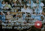 Image of Federal theater San Francisco California USA, 1939, second 2 stock footage video 65675041892