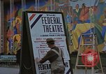 Image of Federal theater San Francisco California USA, 1939, second 51 stock footage video 65675041892