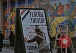 Image of Federal theater San Francisco California USA, 1939, second 53 stock footage video 65675041892