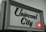 Standbild Universal City Hollywood Los Angeles California USA, 1964, aus Sekunde 6 historischem Filmmaterial Videoclip 65675041913