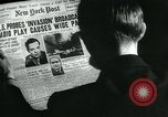 Image of newspapers United States USA, 1938, second 1 stock footage video 65675041915