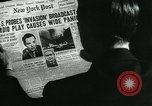 Image of newspapers United States USA, 1938, second 2 stock footage video 65675041915
