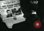 Image of newspapers United States USA, 1938, second 6 stock footage video 65675041915