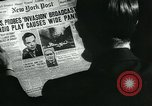 Image of newspapers United States USA, 1938, second 13 stock footage video 65675041915