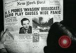 Image of newspapers United States USA, 1938, second 19 stock footage video 65675041915