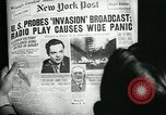 Image of newspapers United States USA, 1938, second 24 stock footage video 65675041915