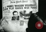 Image of newspapers United States USA, 1938, second 25 stock footage video 65675041915