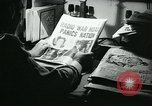 Image of newspapers United States USA, 1938, second 32 stock footage video 65675041915