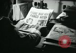 Image of newspapers United States USA, 1938, second 33 stock footage video 65675041915