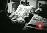Image of newspapers United States USA, 1938, second 34 stock footage video 65675041915