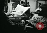 Image of newspapers United States USA, 1938, second 39 stock footage video 65675041915