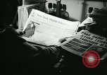 Image of newspapers United States USA, 1938, second 55 stock footage video 65675041915
