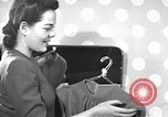 Image of dress and stockings United States USA, 1938, second 3 stock footage video 65675041916