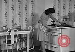 Image of housewife in 1930s United States USA, 1938, second 6 stock footage video 65675041917