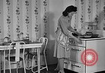 Image of housewife in 1930s United States USA, 1938, second 8 stock footage video 65675041917