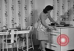 Image of housewife in 1930s United States USA, 1938, second 26 stock footage video 65675041917