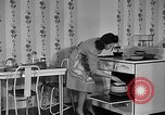 Image of housewife in 1930s United States USA, 1938, second 31 stock footage video 65675041917