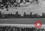 Image of Chicago landmarks and 1950s street scenes Chicago Illinois USA, 1953, second 1 stock footage video 65675041928