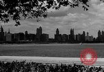 Image of Chicago landmarks and 1950s street scenes Chicago Illinois USA, 1953, second 4 stock footage video 65675041928