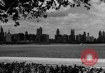 Image of Chicago landmarks and 1950s street scenes Chicago Illinois USA, 1953, second 5 stock footage video 65675041928