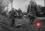 Image of German and Americans in Battle of the Bulge Belgium, 1944, second 61 stock footage video 65675041931