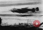 Image of Germans resupply defensive forces on beach by cargo gliders, during Wo Italy, 1943, second 22 stock footage video 65675041934
