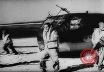 Image of Germans resupply defensive forces on beach by cargo gliders, during Wo Italy, 1943, second 33 stock footage video 65675041934