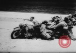 Image of Germans resupply defensive forces on beach by cargo gliders, during Wo Italy, 1943, second 35 stock footage video 65675041934