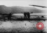 Image of Germans resupply defensive forces on beach by cargo gliders, during Wo Italy, 1943, second 44 stock footage video 65675041934