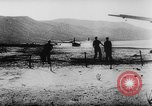 Image of Germans resupply defensive forces on beach by cargo gliders, during Wo Italy, 1943, second 45 stock footage video 65675041934