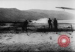 Image of Germans resupply defensive forces on beach by cargo gliders, during Wo Italy, 1943, second 46 stock footage video 65675041934