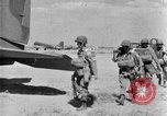 Image of C 47 aircraft with American paratroopers in World War 2 European Theater, 1943, second 1 stock footage video 65675041942