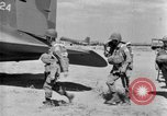 Image of C 47 aircraft with American paratroopers in World War 2 European Theater, 1943, second 2 stock footage video 65675041942
