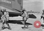 Image of C 47 aircraft with American paratroopers in World War 2 European Theater, 1943, second 3 stock footage video 65675041942