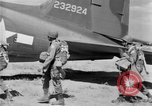 Image of C 47 aircraft with American paratroopers in World War 2 European Theater, 1943, second 6 stock footage video 65675041942