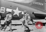 Image of C 47 aircraft with American paratroopers in World War 2 European Theater, 1943, second 8 stock footage video 65675041942