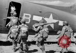 Image of C 47 aircraft with American paratroopers in World War 2 European Theater, 1943, second 14 stock footage video 65675041942