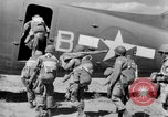 Image of C 47 aircraft with American paratroopers in World War 2 European Theater, 1943, second 16 stock footage video 65675041942