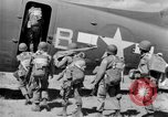 Image of C 47 aircraft with American paratroopers in World War 2 European Theater, 1943, second 17 stock footage video 65675041942