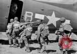 Image of C 47 aircraft with American paratroopers in World War 2 European Theater, 1943, second 18 stock footage video 65675041942