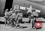 Image of C 47 aircraft with American paratroopers in World War 2 European Theater, 1943, second 19 stock footage video 65675041942