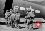 Image of C 47 aircraft with American paratroopers in World War 2 European Theater, 1943, second 20 stock footage video 65675041942